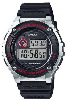 Часы Casio W-216H-1C мужские наручные Япония