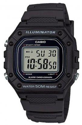 Часы Casio W-218H-1AVEF мужские наручные Япония