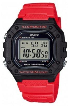 Часы Casio W-218H-4BVEF мужские наручные Япония