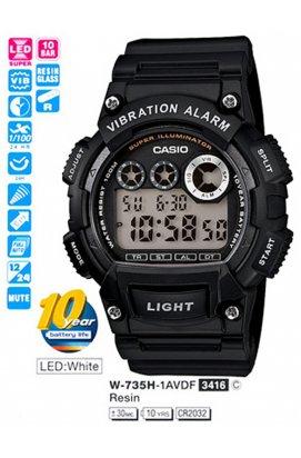 Часы Casio W-735H-1AVEF мужские наручные Япония