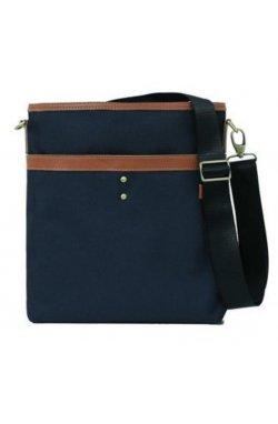 Легкая тканевая мужская сумка через плечо 140505BU