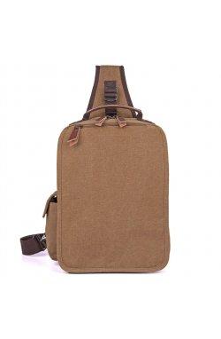 Тканевый мужской слинг рюкзак OEM-9031C John McDee