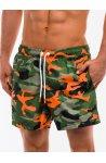 Шорты мужские пляжные W160 - Зеленый/Моро