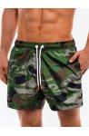 Шорты мужские пляжные W159 - Зеленый/Моро