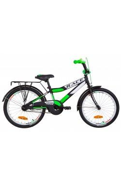 """Велосипед 20"""" Formula RACE CR 2019 (черно-салатный (м))"""