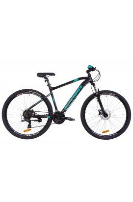 "Велосипед 29"" Optimabikes F-1 HDD 2019 (черно-бирюзовый (м))"
