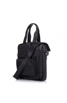 Кожаная мужская сумка трансформер GA-7266-2md TARWA Черный