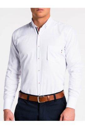 Рубашка мужская R490 - Белый