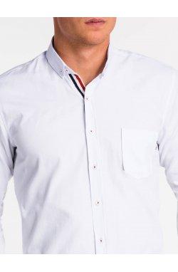 Рубашка мужская K490 - Белый