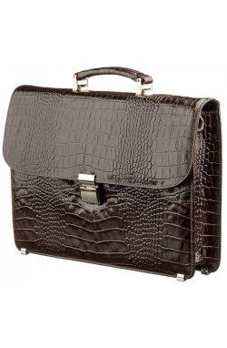 Портфель мужской KARYA 17274 кожаный Коричневый, Коричневый