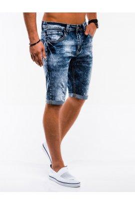 Шорты мужские джинсовые W216 - Синий