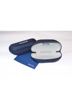 Мужские солнцезащитные очки INVU B1705C - авиаторы, Цвет линз - коричневый