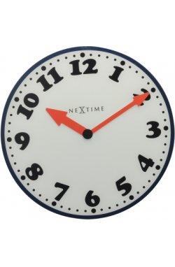"""Часы настенные """"Boy"""" с красными стрелками"""