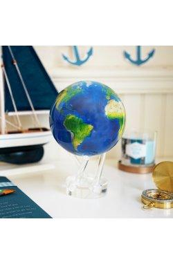 Глобус самовращающийся Solar Globe Mova Вид из космоса