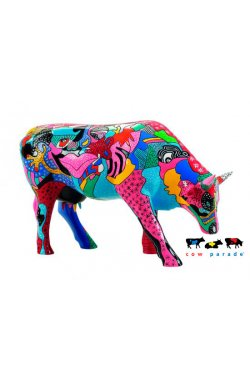 Коллекционная статуэтка корова Partying with P-COW-sso
