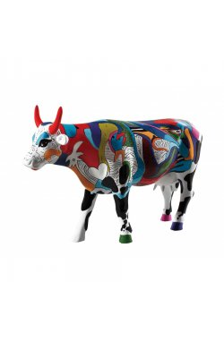 Коллекционная статуэтка корова Ziv's Udderly Cool Cow