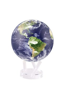 "Глобус самовращающийся Solar Globe Mova ""Земля в облаках"" 15,3 см (MG-6-STE-C)"