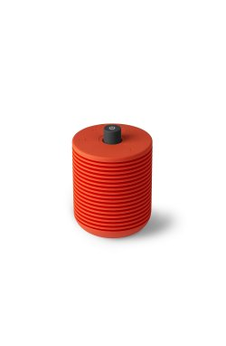 Радио FM с Bluetooth-динамиком Hibi, красное