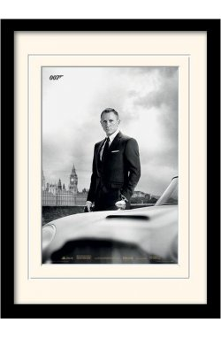 "Постер в раме ""James Bond (Skyfall)"""