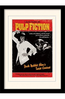"Постер в раме ""Pulp Fiction (Twist Contest)"""