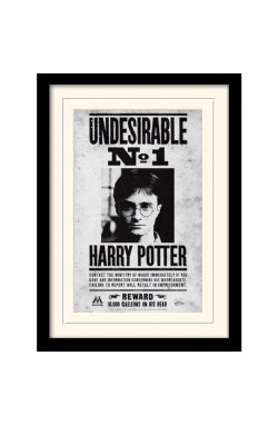 "Постер в раме ""Harry Potter (Undesirable No1)"""