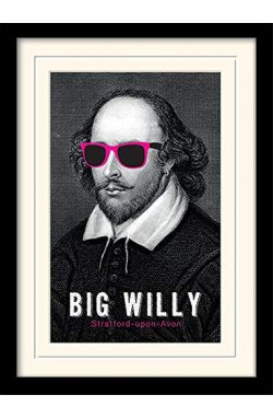 "Постер в раме ""William Shakespeare (Big Willy)"""