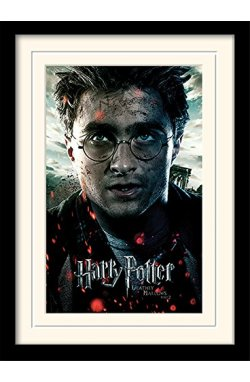 "Постер в раме ""Harry Potter (Deathly Hallows Part 2 - Harry)"""