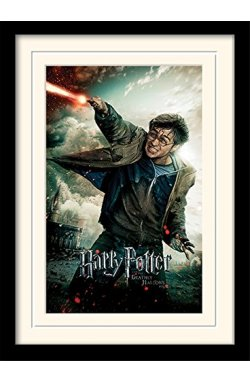 "Постер в раме ""Harry Potter (Deathly Hallows Part 2 - Wand)"""