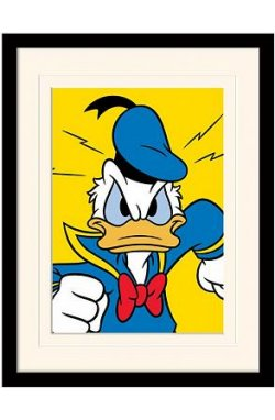 "Постер в раме ""Donald Duck (Mad)"""