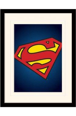 "Постер в раме ""DC Comics (Superman Symbol)"""