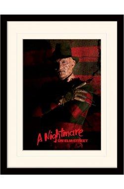 "Постер в раме ""A Nightmare On Elm Street (Freddy Krueger)"""