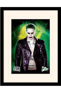 "Постер в раме ""Suicide Squad (The Joker)"""