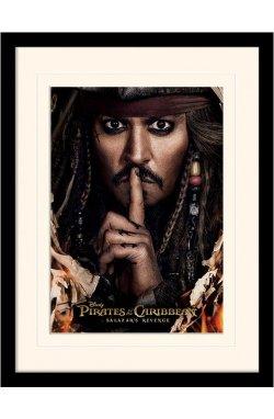 "Постер в раме  ""Pirates of the Caribbean (Can You Keep A Secret)"""