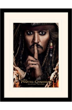 "Постер в раме ""Pirates of the Caribbean (Can You Keep A Secret)"""