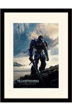 "Постер в раме  ""Transformers The Last Knight (Rethink Your Heroes)"""