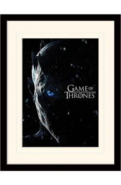 """Постер в раме  """"Game Of Thrones (The Night King)"""""""