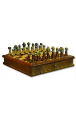 """Шахматы """"King"""" с выдвижным ящиком"""