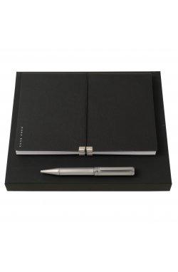 Набор Hugo Boss (шариковая ручка и блокнот A5) - 6589
