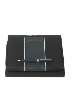 Набор Gear Blue шариковая ручка и папка для конференций A5 - 6786