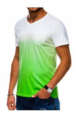 Футболка мужская F1036 - зеленый