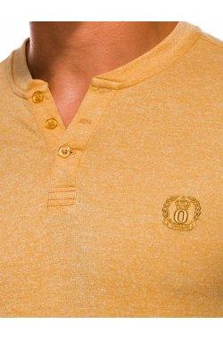 Футболка мужская F1047 - żółty