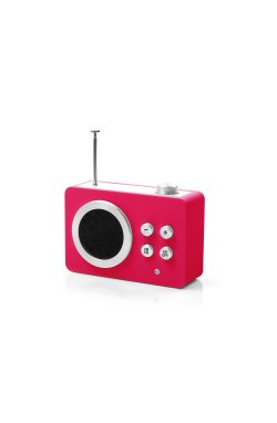 Радиоприемник Яркие впечатления (AM/FM - MP3), розовый - 2037