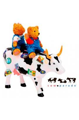 Коллекционная статуэтка корова Teddy Bears on the Moove - 2072