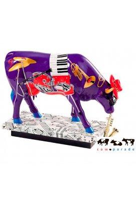 "Коллекционная статуэтка корова ""In the Mood"" - wos2074"