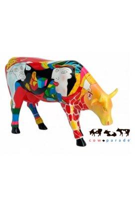 Коллекционная статуэтка корова Hommage Picowso's - 4296