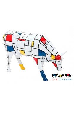 Коллекционная статуэтка корова Moondrian - 5809