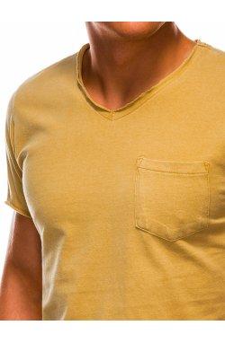 Футболка мужская F1037 - желтый