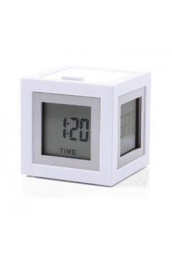 Будильник Cubissimo, белый - 802