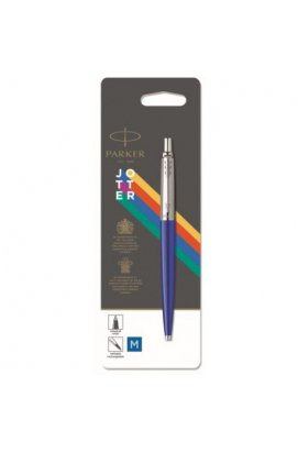 Ручка шариковая Parker JOTTER 17 Plastic Blue CT BP блистер 15 136, Корпус - Синий