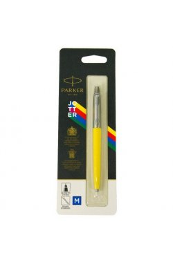 Ручка шариковая Parker JOTTER 17 Plastic Yellow CT BP блистер 15 336